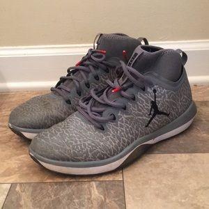 Men's Jordan's 23 Grey Leopard Basketball Shoes